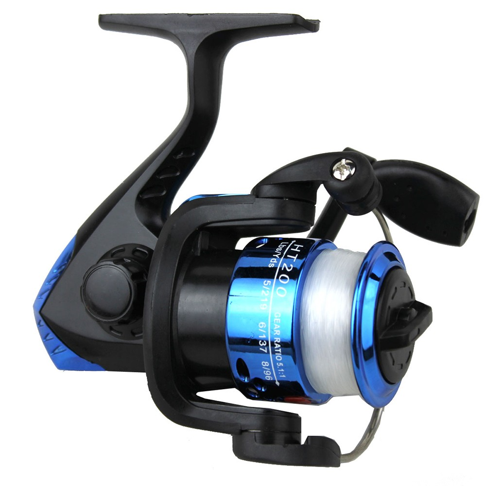 SY200 1BB Fishing Tool Spinning Fishing Reel with Foldable Handle