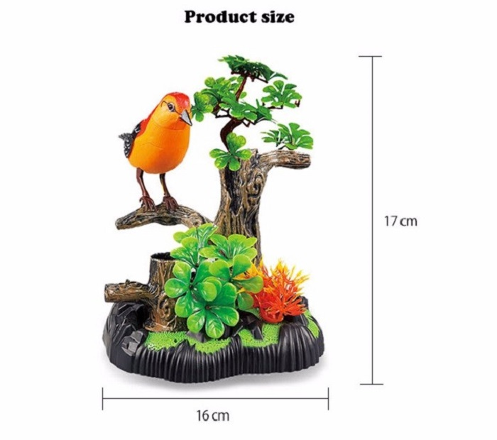 Voice Control Bird Fantastic Singing Song Simulation Toy
