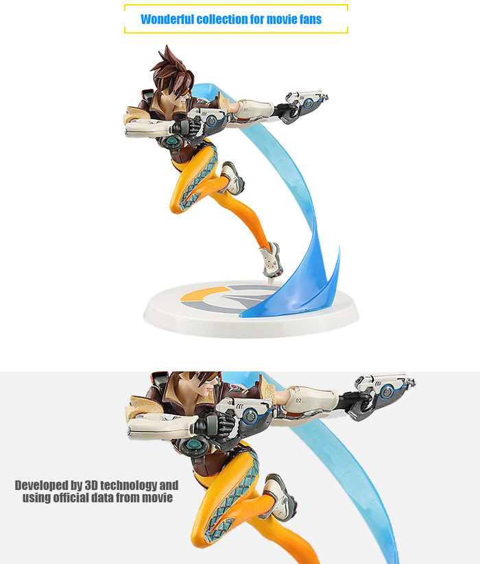 Shooting Game Action Figure Collectible ABS + PVC Figurine Toy - 10.23 inch