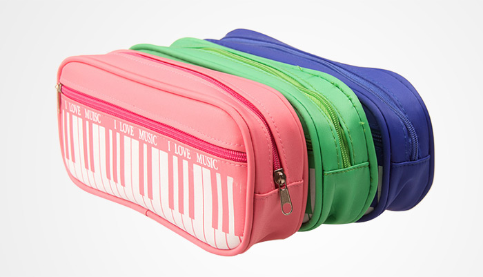 Piano Style Pen Bag Pencil Case