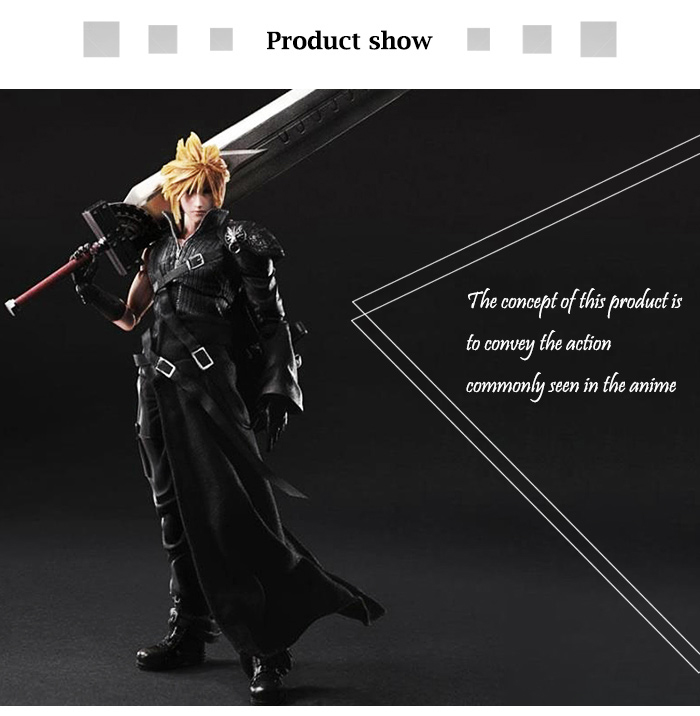 10.63 inch Action Figure Animation Collectible ABS + PVC Figurine