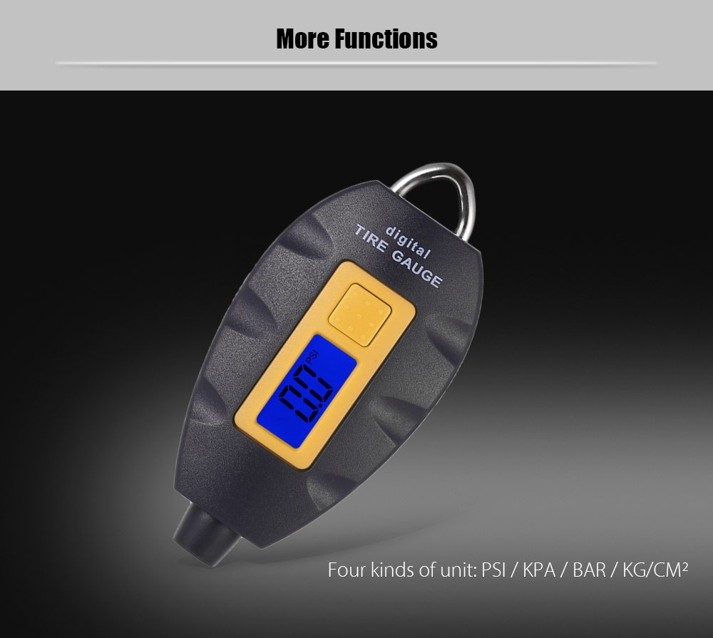 WF152 TPMS Tire Gauge Pressure Monitoring System with LCD Display