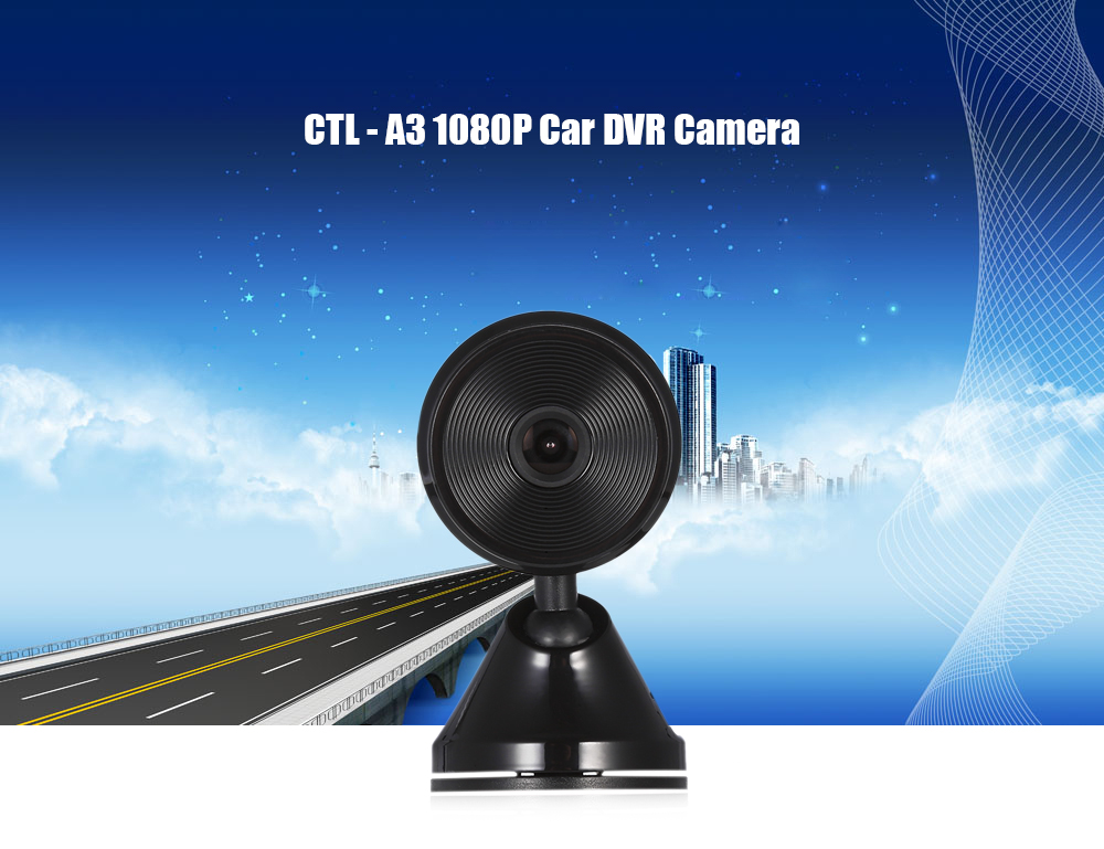 CTL - A3 1080P Car DVR Camera with Parking Monitoring Function