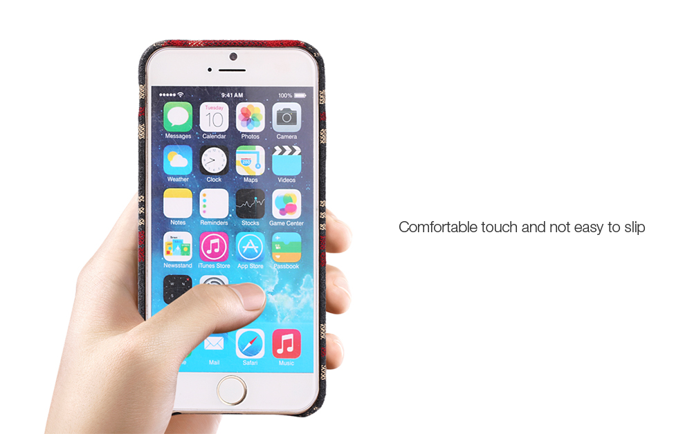 Luanke Fabric Grain Phone Case Protector for iPhone 6 / 6S