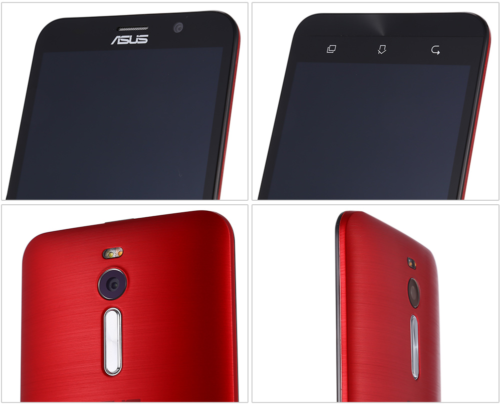ASUS ZenFone 2 ( ZE551ML ) 5.5 inch FHD Screen Android 5.0 4G Phablet Intel Z3560 64bit Quad Core 1.8GHz 4GB RAM 16GB ROM 13.0MP + 5.0MP Dual Cameras