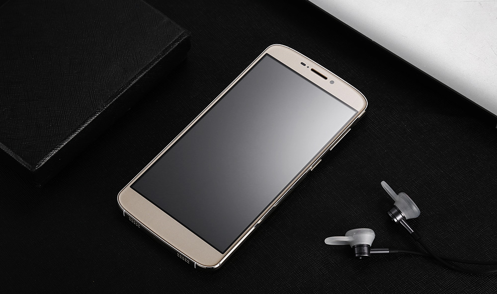 Uhappy UP350 4G Phablet Android 6.0 5.5 inch MTK6737 Quad Core 1.3GHz 2GB RAM 16GB ROM Fingerprint Scanner Dual Cameras