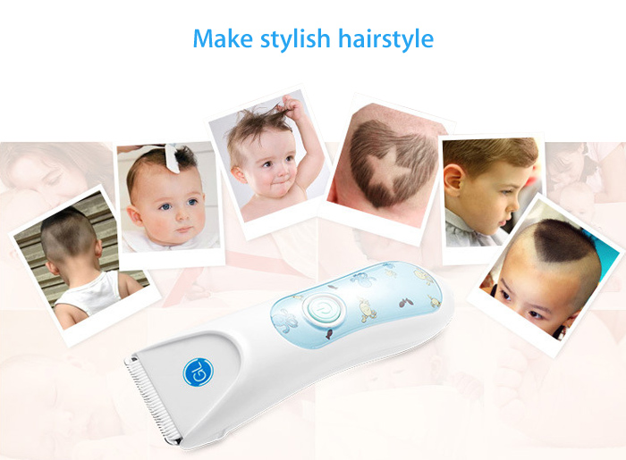 Gland Electronics L - 12 Baby Infant Electric Low Noise Waterproof Hair Clipper