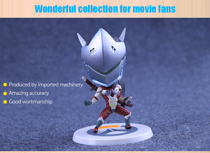 Cosplay Game Action Figure Collectible ABS + PVC Figurine Toy - 4.33 inch