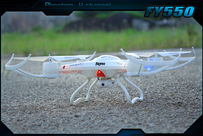 FY550-1 New Design 2.4GHz 4 CH Quadcopter 6 Axis Gyro 360 Degrees Eversion Quadcopter with LED Light