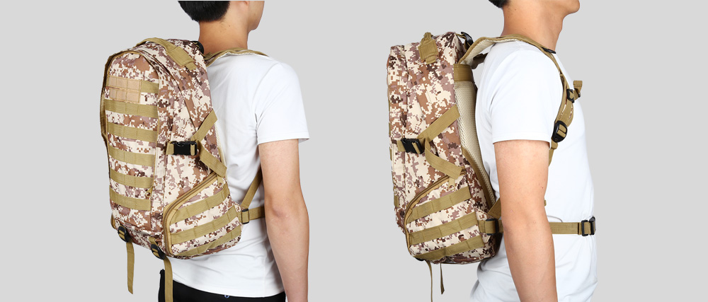 BL029 Water-resistant Oxford Cloth 35L Mountaineering Backpack Bag