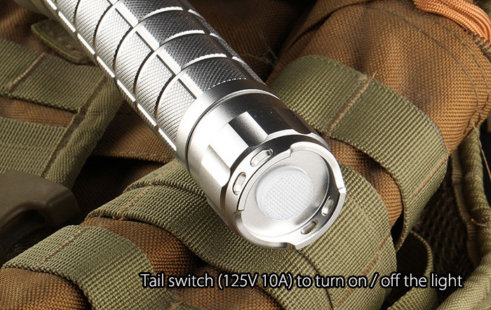 Convoy L6 3800LM Cree XHP70 N2 3A 26650 LED Flashlight Searchlight
