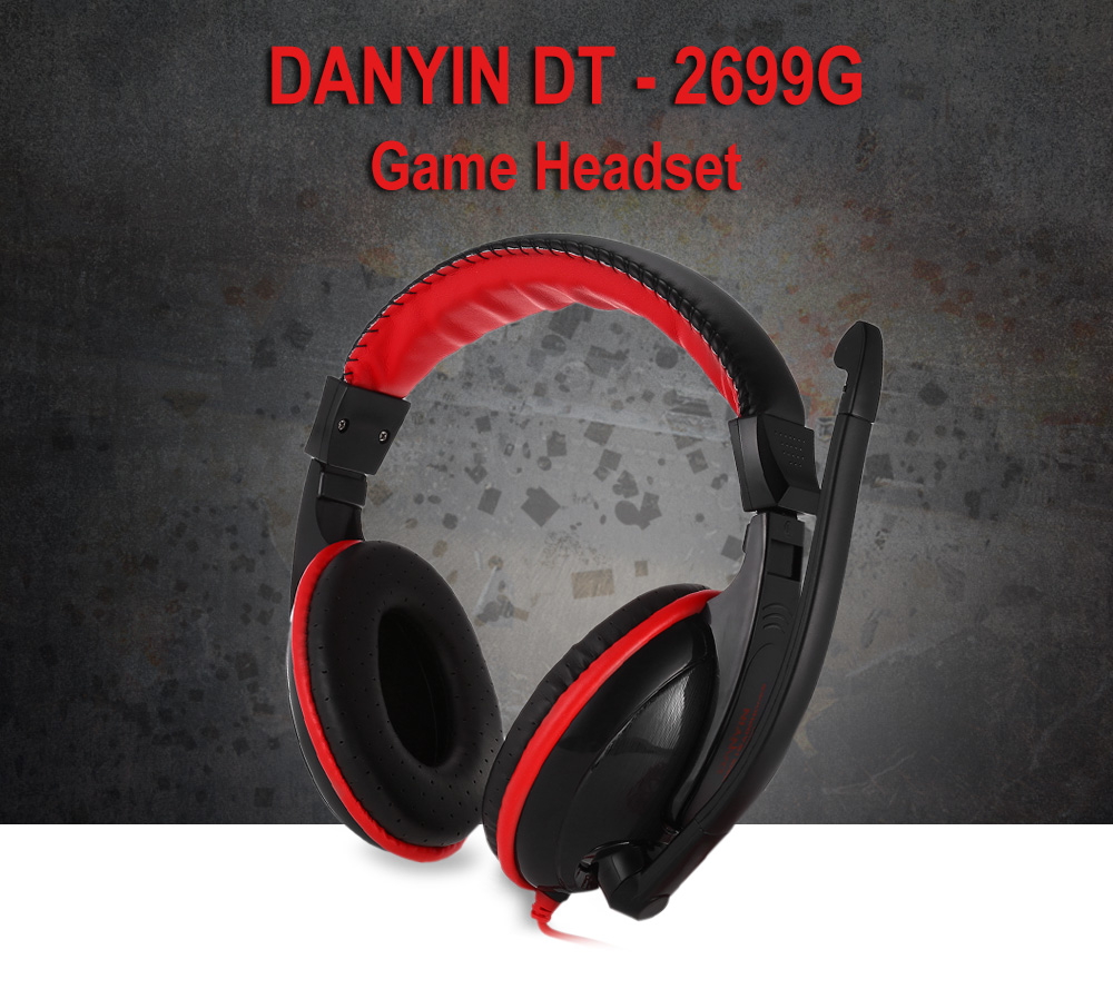 DANYIN DT - 2699G Game Headset with Mic