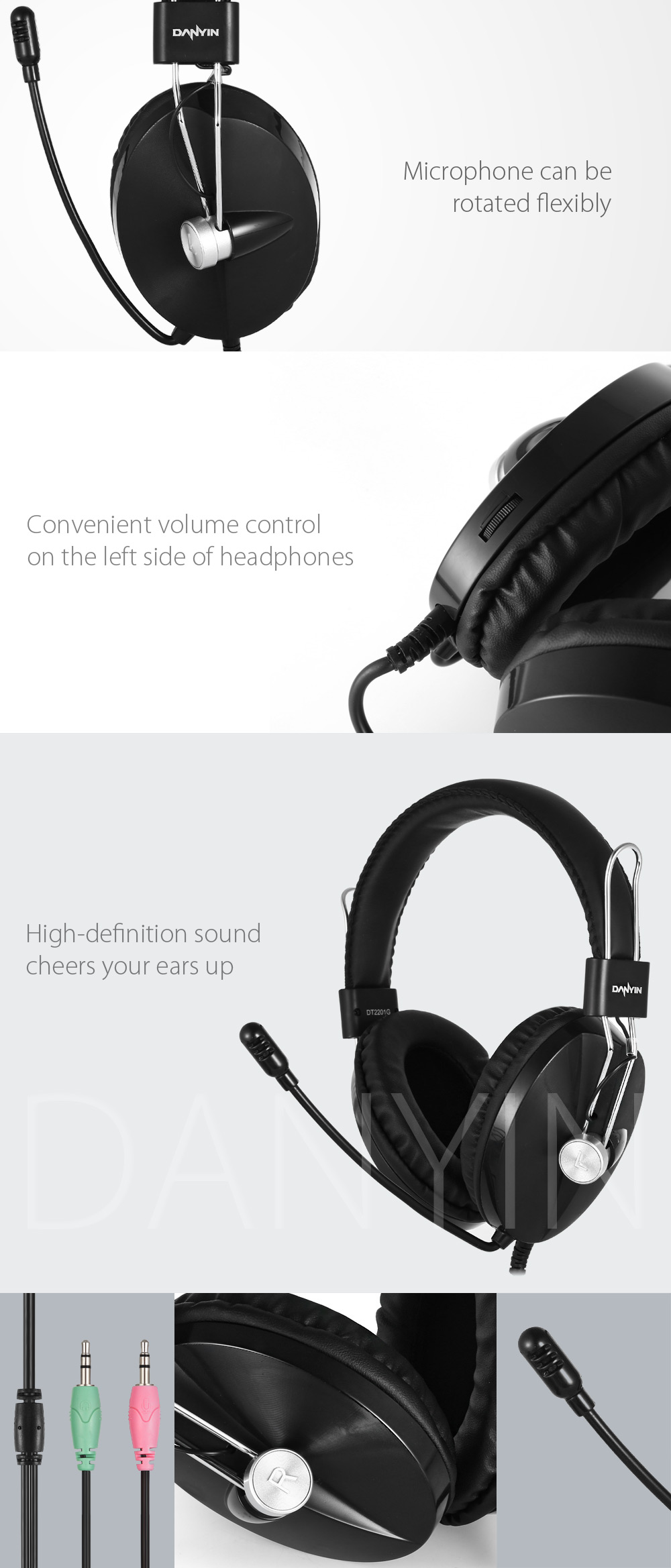 DANYIN DT - 2201G Game Headset for PC
