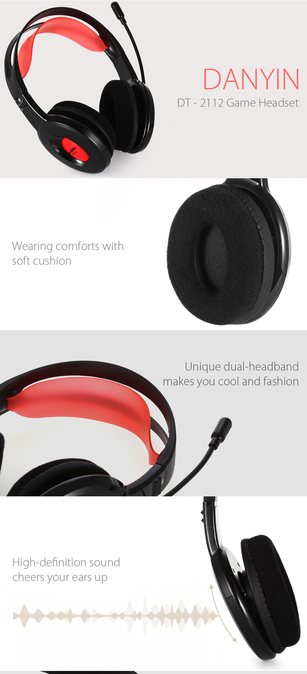 DANYIN DT - 2112 Game Headset for PC