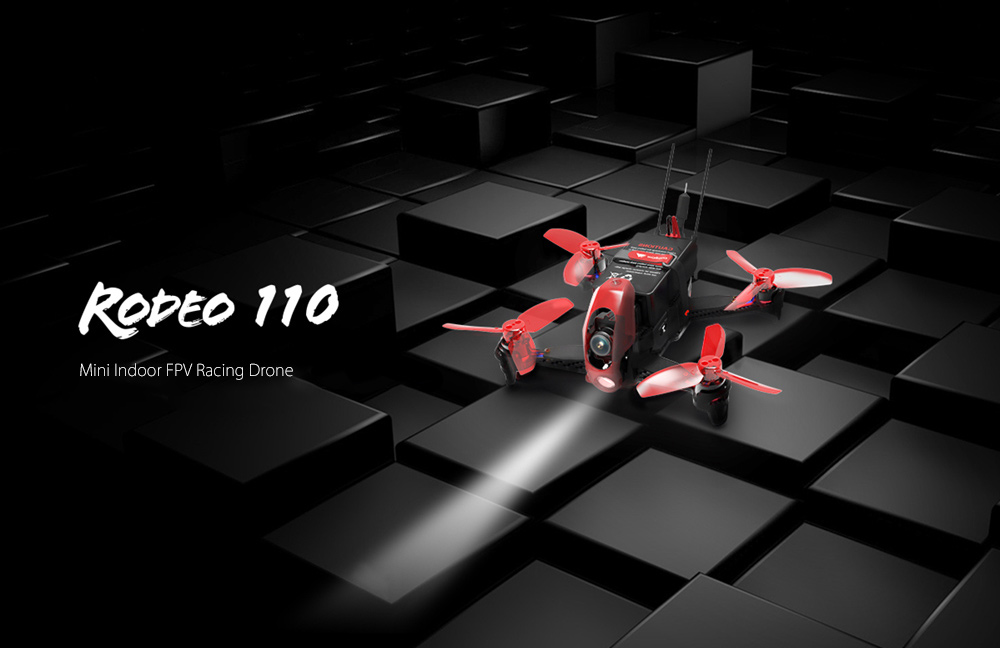 Walkera Rodeo 110 110mm Mini FPV Racing Drone ARF 5.8G 600TVL / 6-axis Gyro / F3 FC