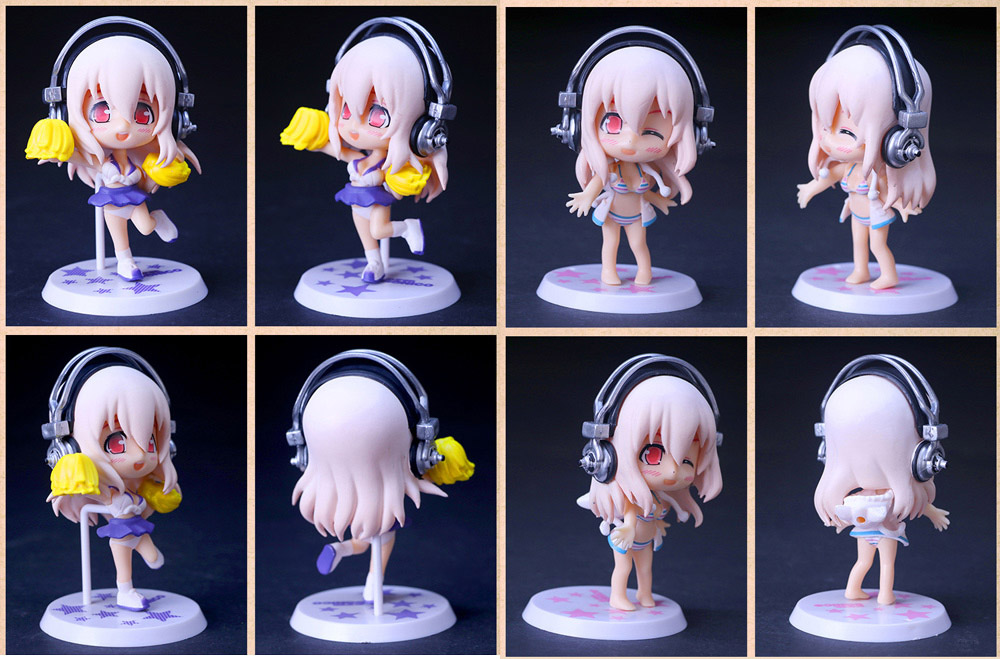Figurine Animation Collectible ABS + PVC Action Figure