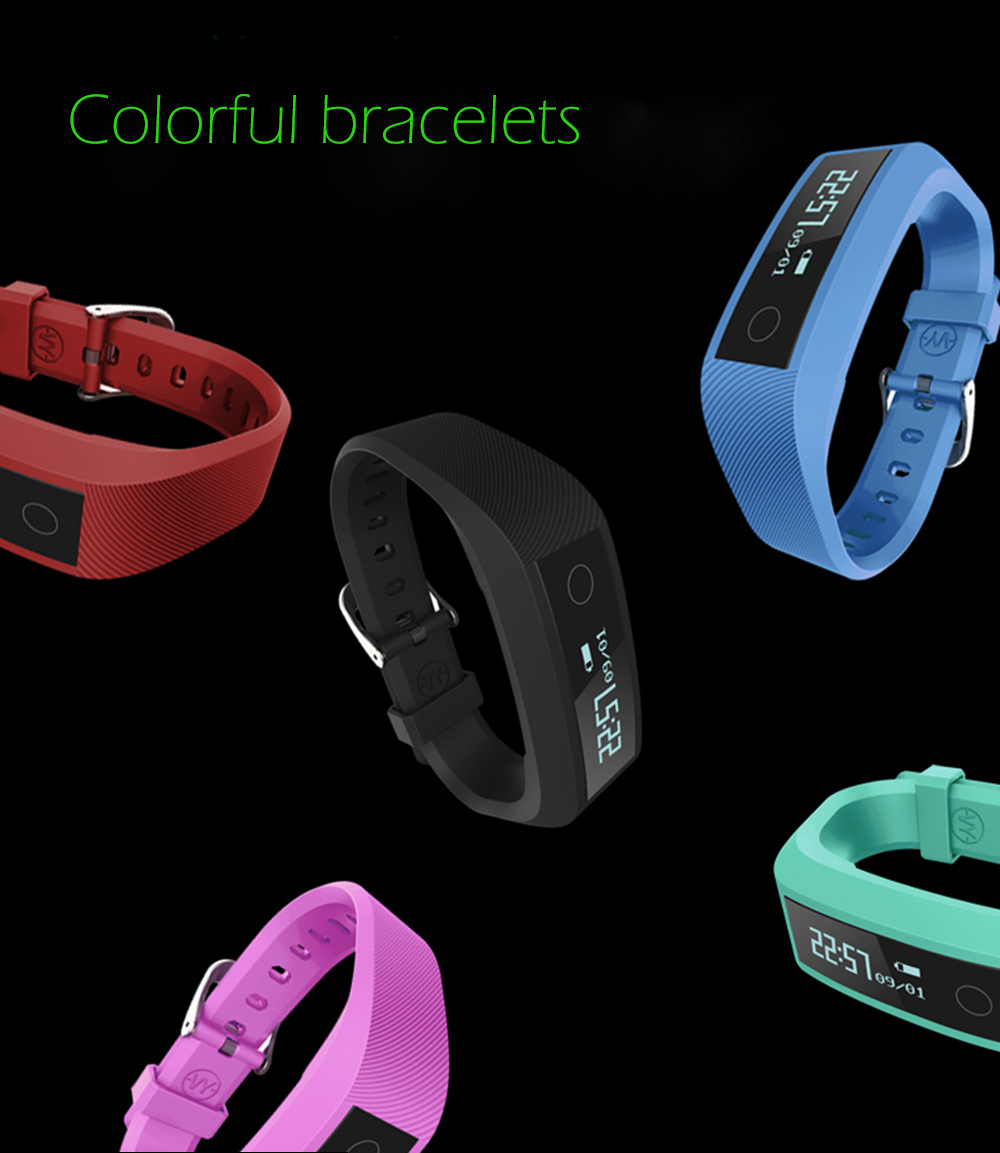 Y01 Heart Rate Smart Wristband Remote Camera Anti-lost Notifications Reminder Bracelet