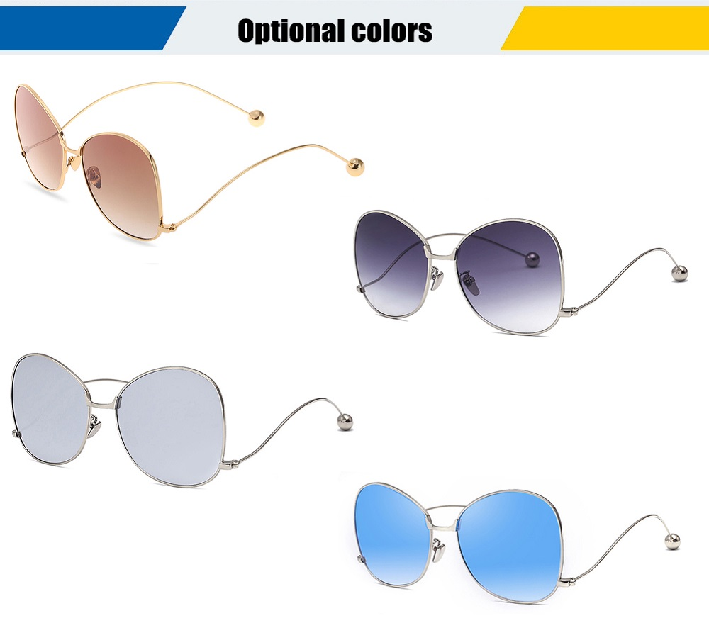 2369 UV-resistant Sunglasses Eyewear with PC Lens / Metal Frame