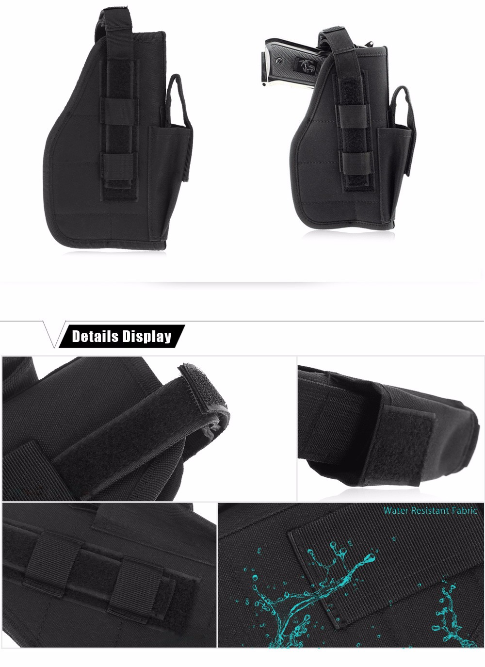 Outdoor Universal Military Waist Bag Nylon Tactical Pouch