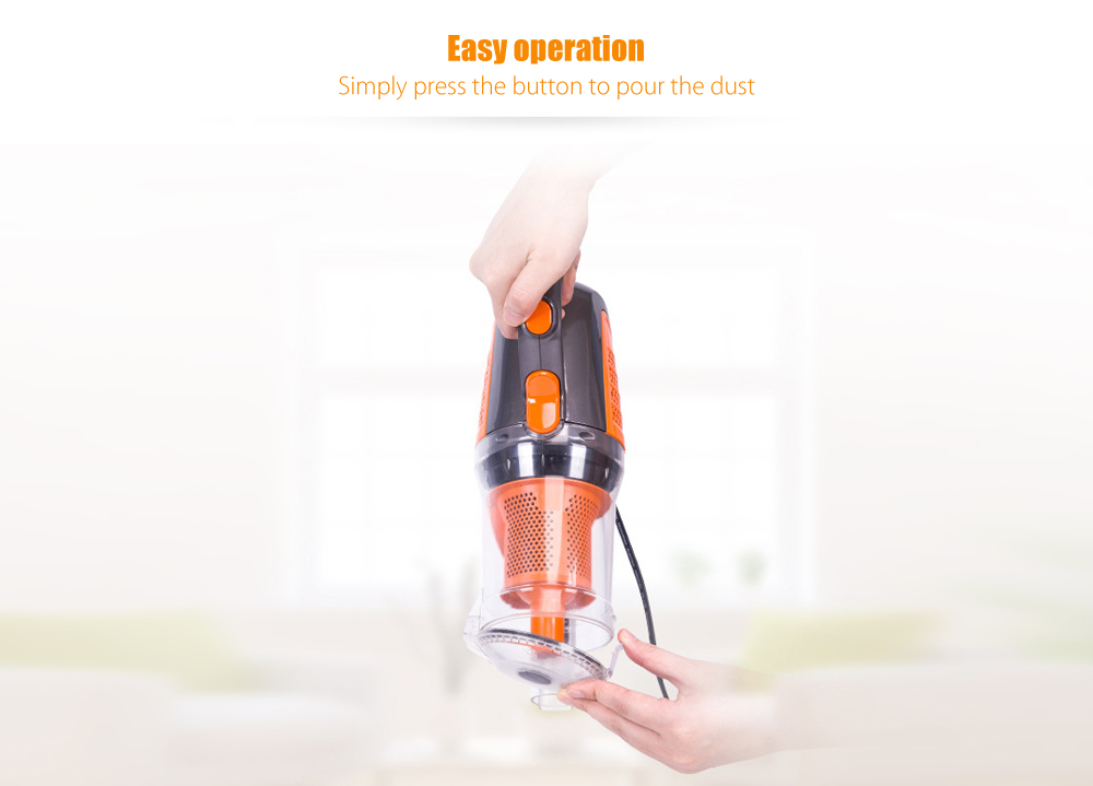 VC - S1603 2 in 1 Low Noise Portable Vacuum Cleaner for Home