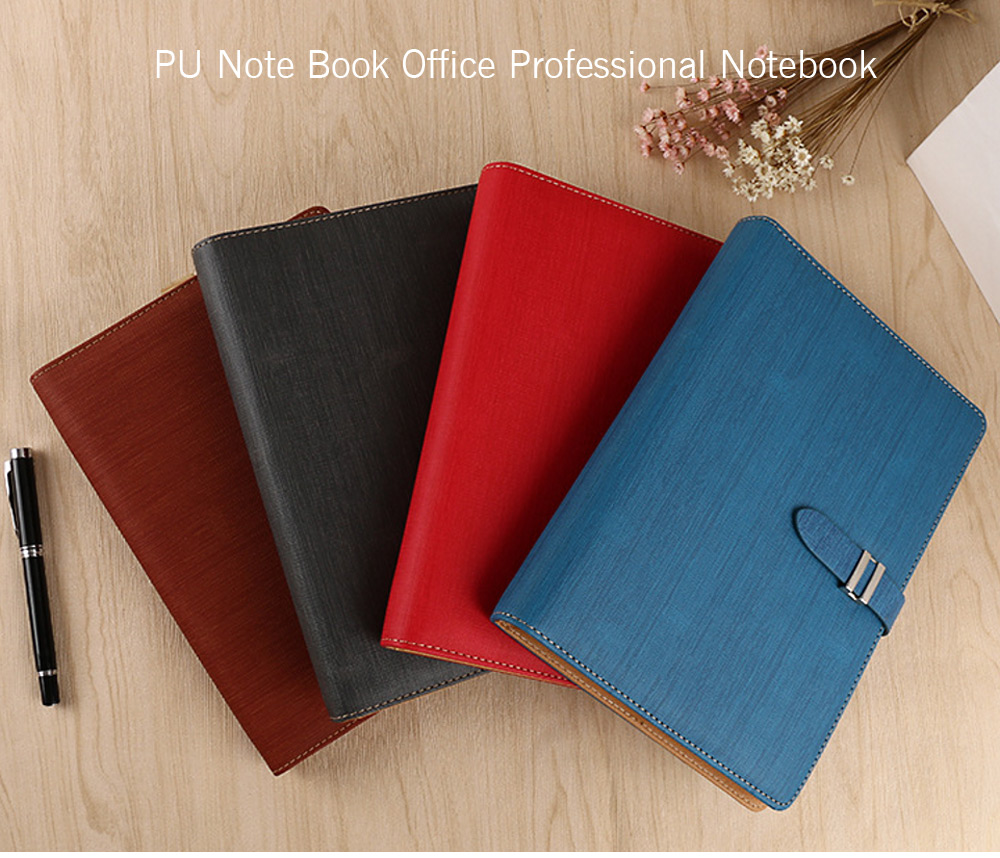 Note Book PU Notebook for Office / School