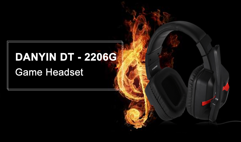 DANYIN DT - 2206G Game Headset with Mic