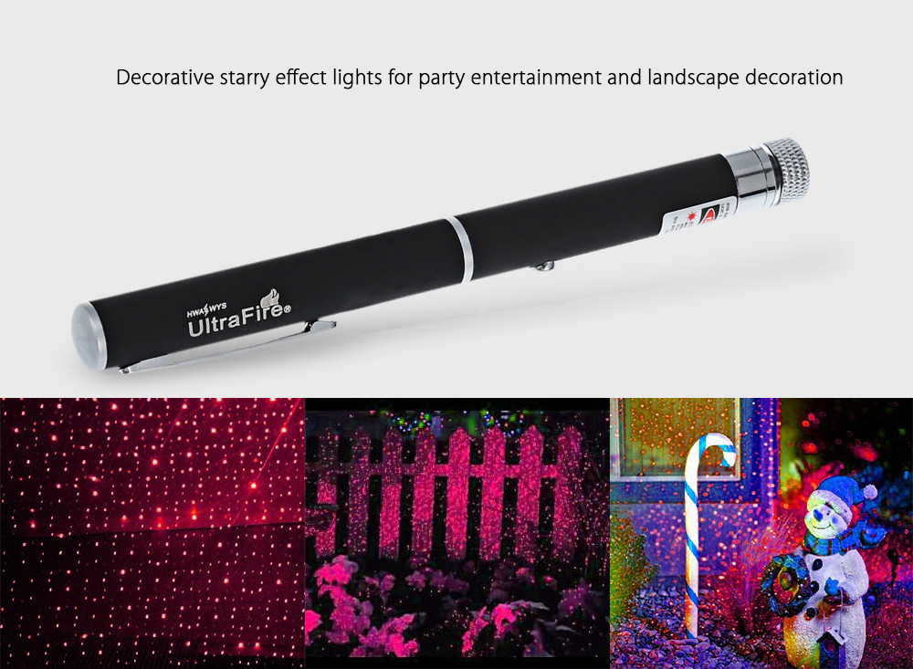 UltraFire 620nm 5mw Starry Sky Red Laser Pointer Pen