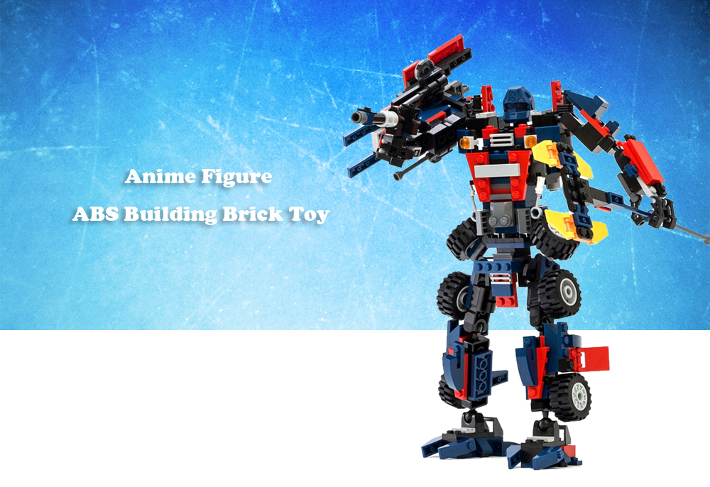 377pcs / set Cartoon Figure Educational Building Block