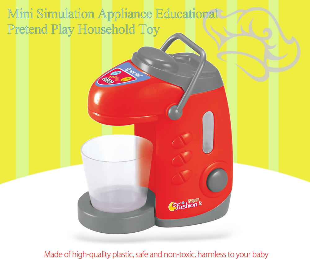 Simulation Appliance Water Bottle Educational Pretend Play Household Toy Gift