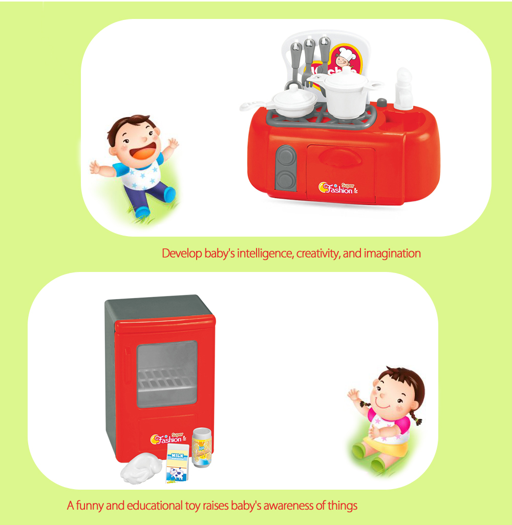 Electric Simulation Appliance Set Educational Household Toy
