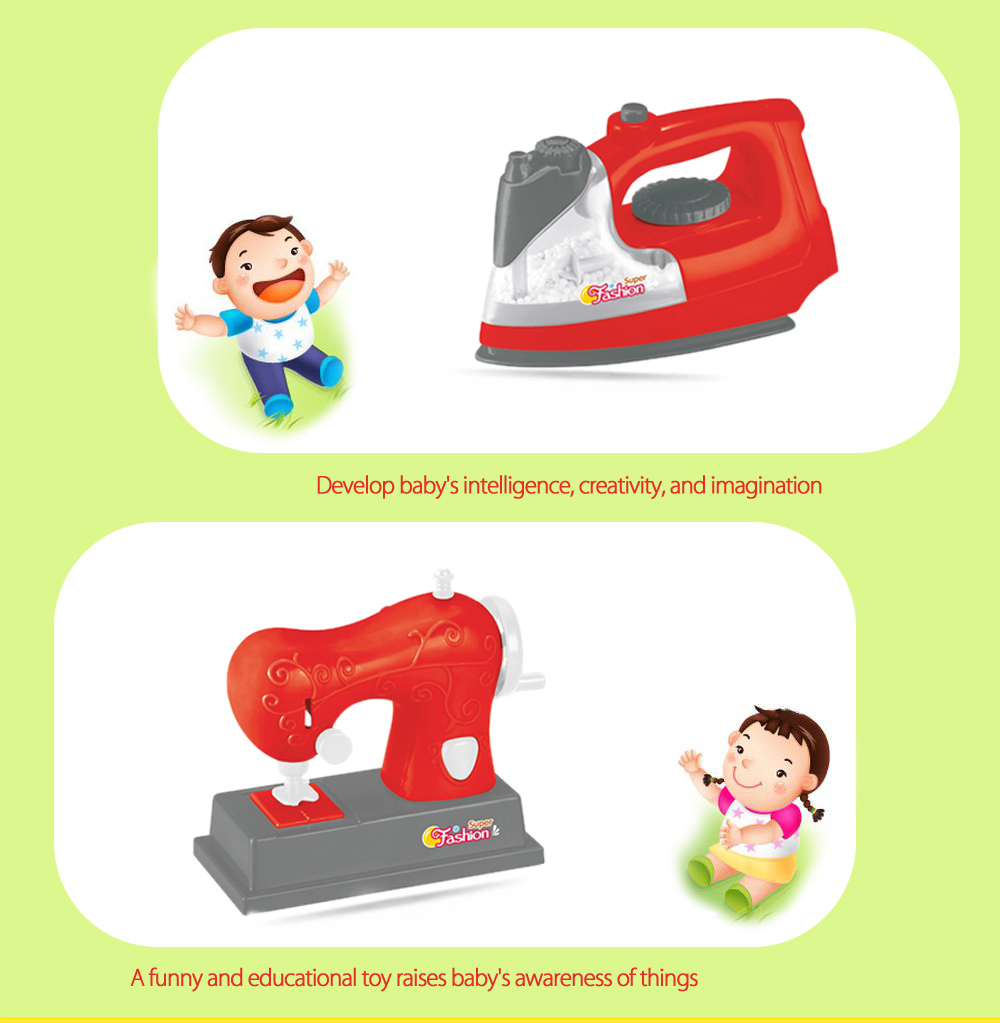 Electric Simulation Appliance Set Educational Household Toy Gift