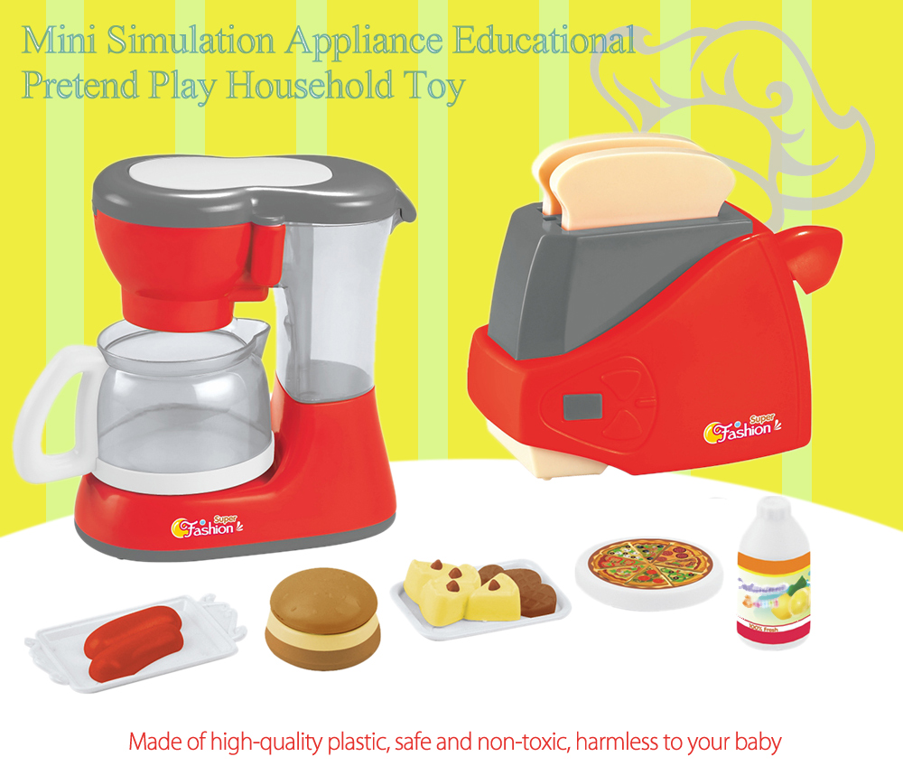 Electric Simulation Appliance Set Educational Pretend Toy