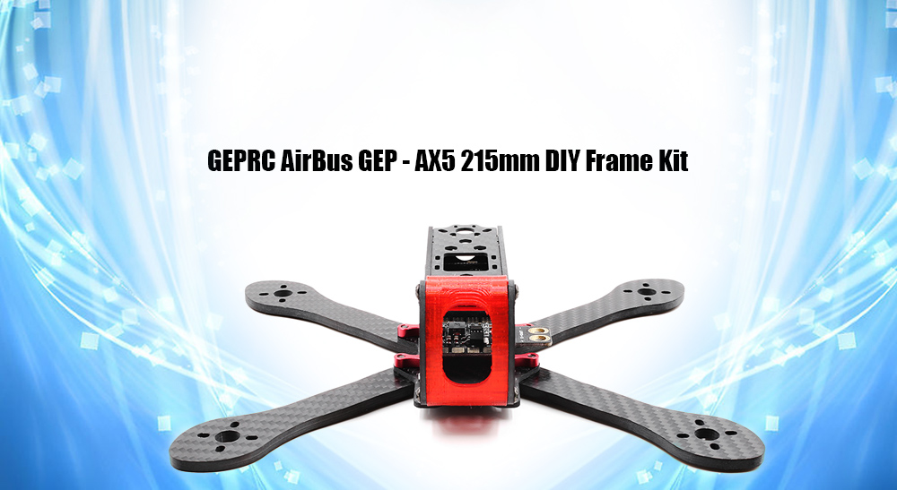 GEPRC AirBus GEP - AX5 215mm Carbon Fiber Frame with LED Board / PDB