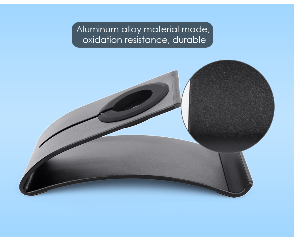 Anti-skid Aluminum Alloy Charging Stand Bracket for Smart Phone Tablet iWatch