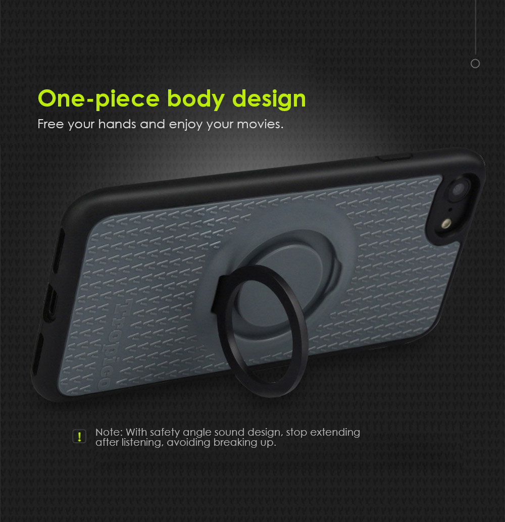 Benks TPU Soft Case Protector for iPhone 7 Ring Holder Magnetic Stand