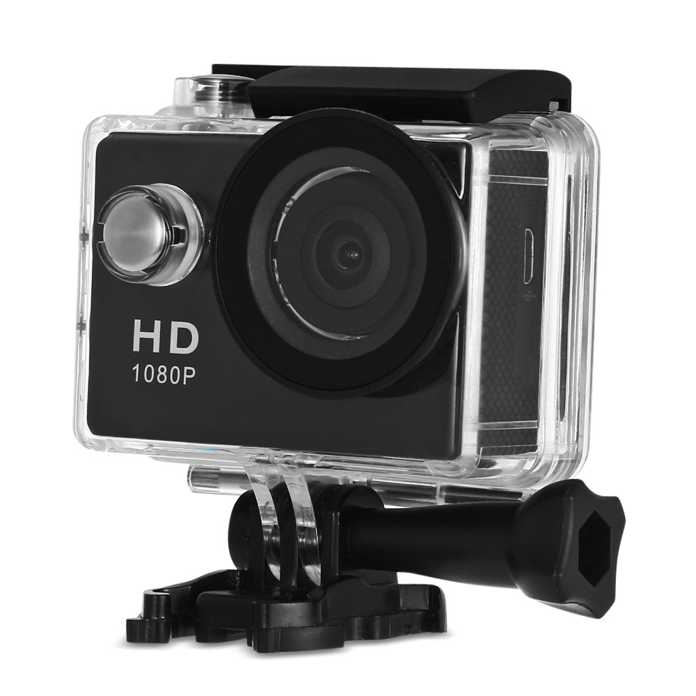 A9 2 inch LCD HD 1080P Sports Action Camera 30m Waterproof MJPEG DVR