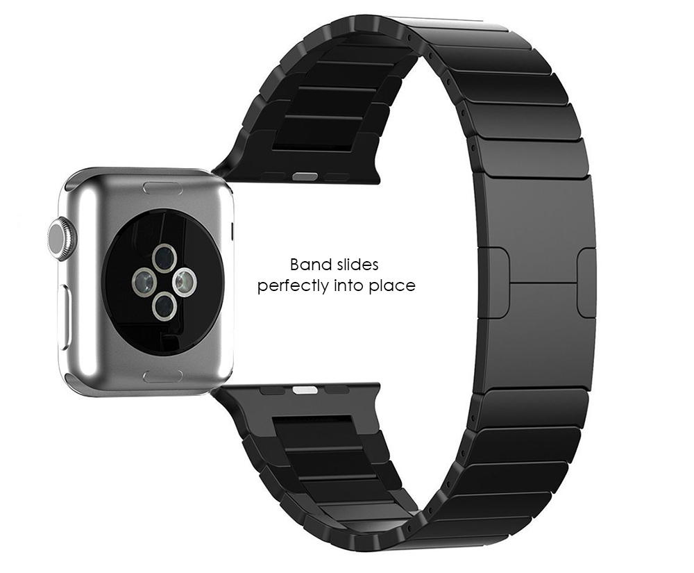 Detachable Stainless Steel Watchband for Apple Watch 42mm