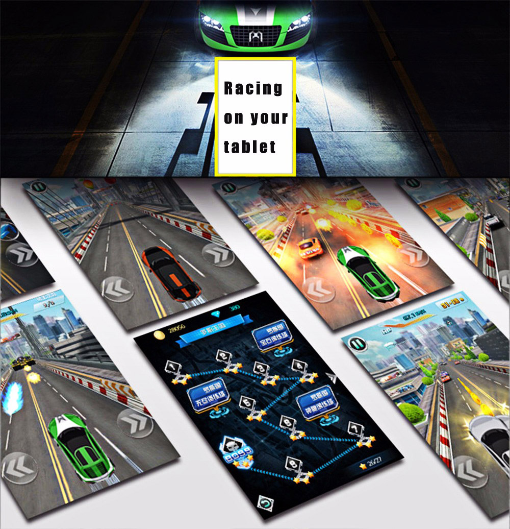 3D Smart Interactive Pocket Racing Car Vehicle Educational Toy Upgraded Version