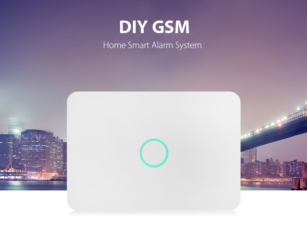 S1 Wireless DIY GSM Alarm System Kit Home Smart with APP Control Function