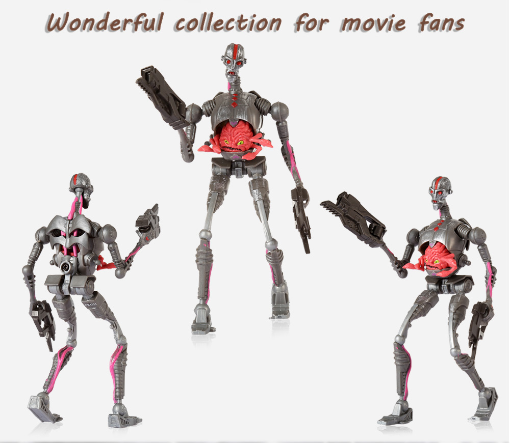 Movable Robot Movie Figure Kid Model Toy Decor - 5.51 inch