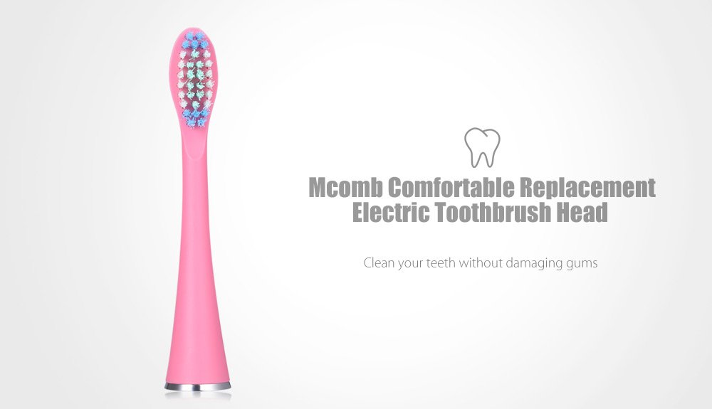 Mcomb Comfortable Replacement Electric Toothbrush Head for MB1160 1180