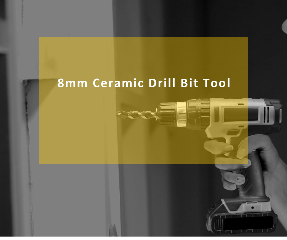 8mm Ceramic Drill Hole Saw Head Bit for Drilling