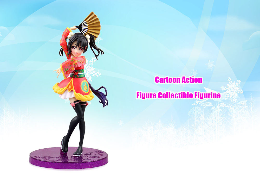 6.69 inch Figurine Animation Collectible ABS + PVC Action Figure