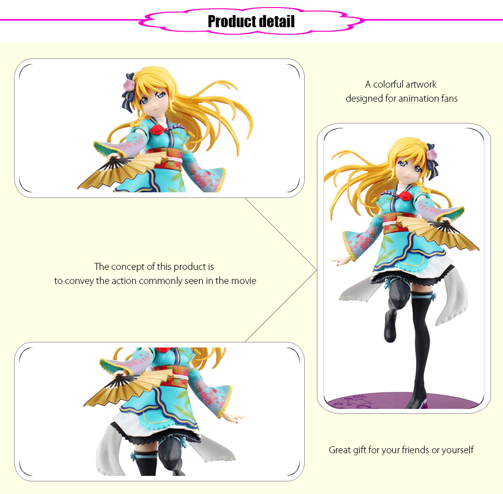 Animation Collectible ABS + PVC Action Figure - 6.69 inch