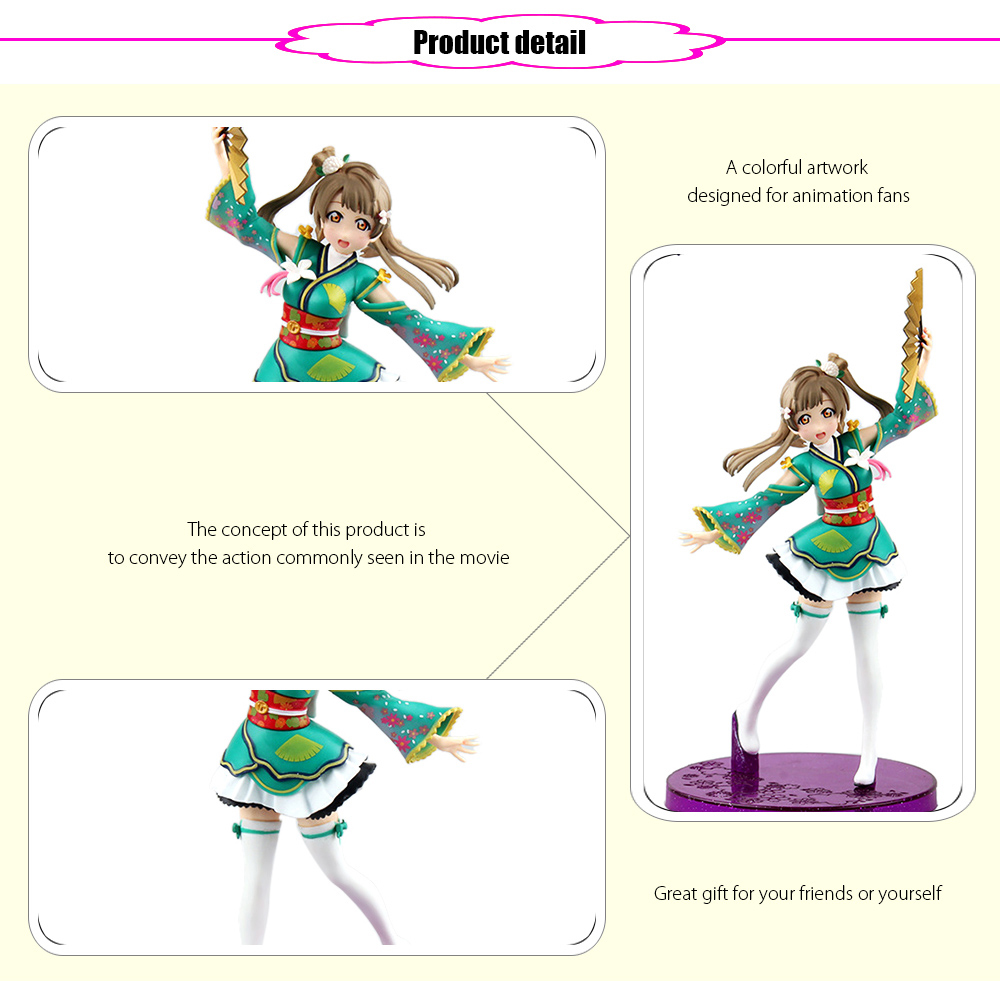 ABS + PVC Figurine Animation Action Figure - 6.69 inch