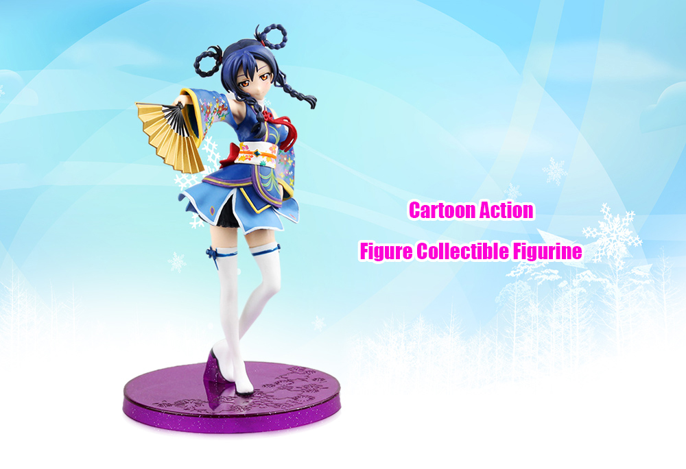 ABS + PVC Figurine Animation Collectible Action Figure - 6.69 inch