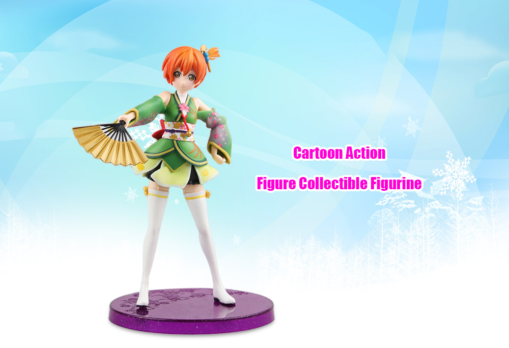 Figurine Animation ABS + PVC Action Figure - 6.69 inch