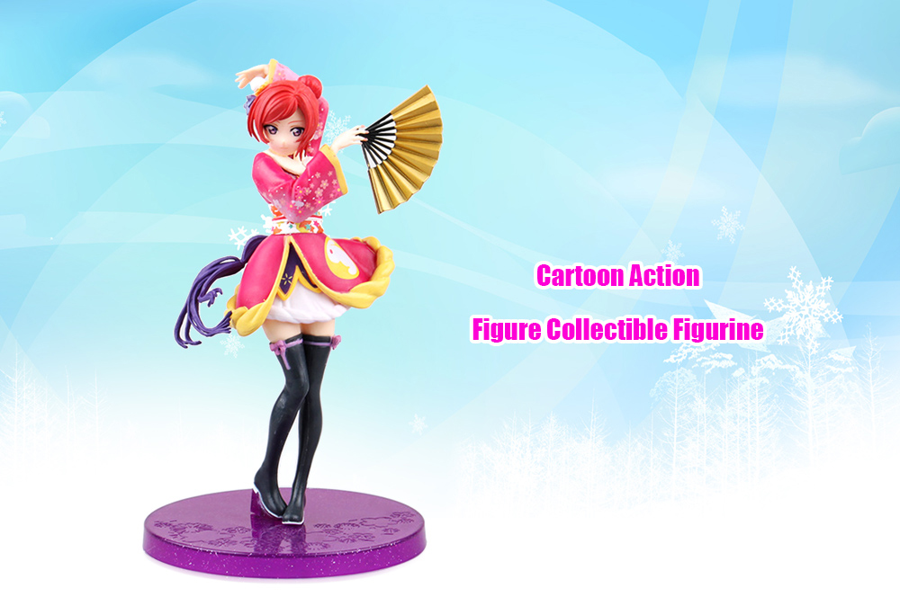 Animation Figurine Collectible ABS + PVC Action Figure - 6.69 inch