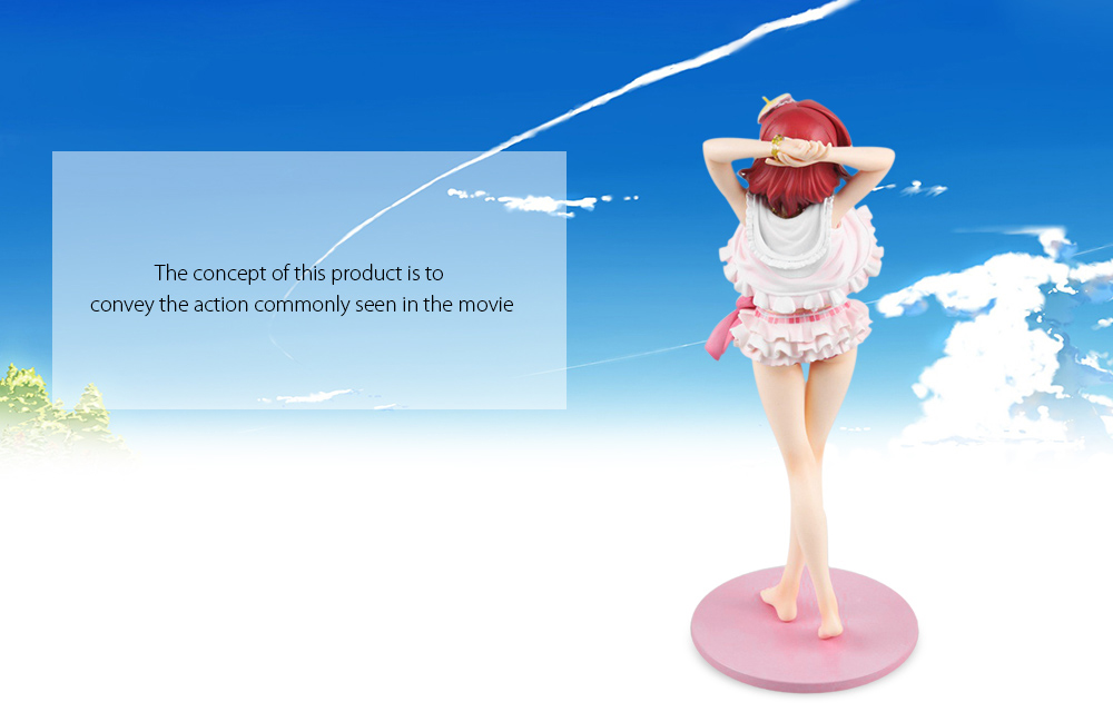 Figurine Animation Collectible ABS + PVC Action Figure - 9.06 inch