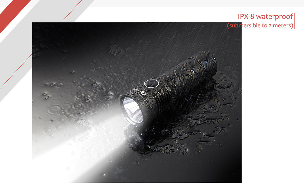 LUMINTOP SD26 Cree XPL HD 1000Lm Rechargeable LED Flashlight